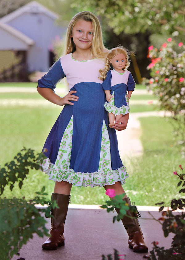 Haley dress - Sweet apple 4, 6, 8, 10, 12