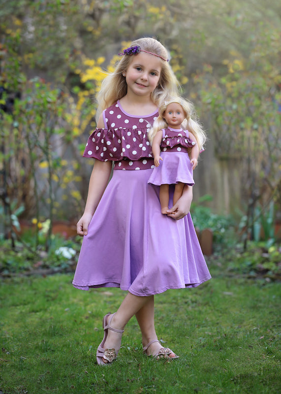 Sunny dress - Grape Juice size 4, 6, 8, 10