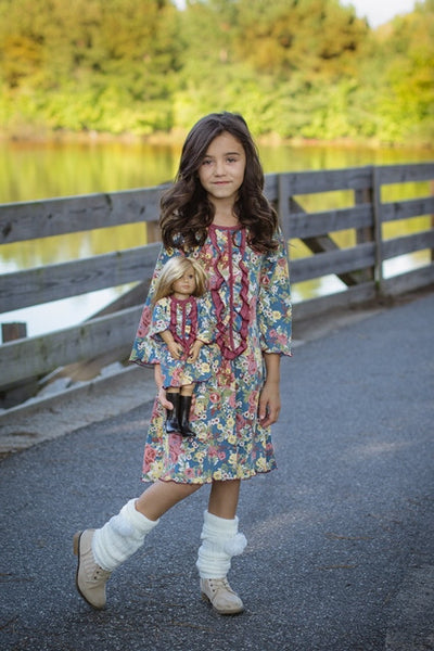 Ella dress - Flower Rain