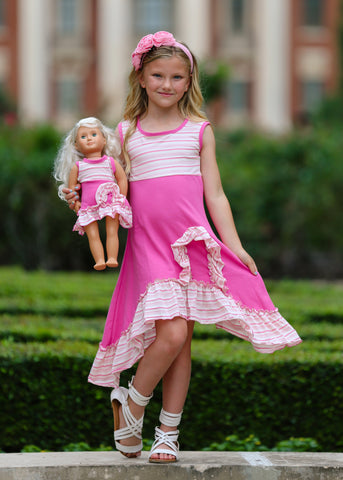 Charlotte dress - Pretty in Pink size 6, 8, 10, 12