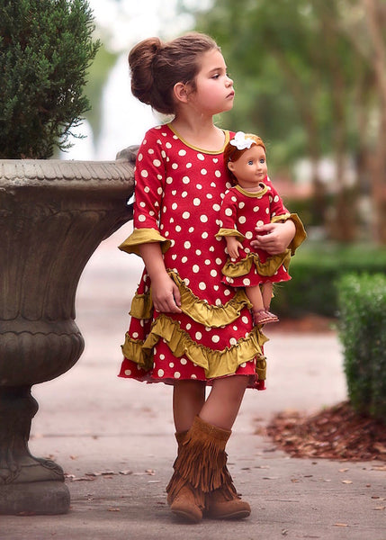 Judy Dress - Little Retro Lady sz 4, 6, 8, 10, 12