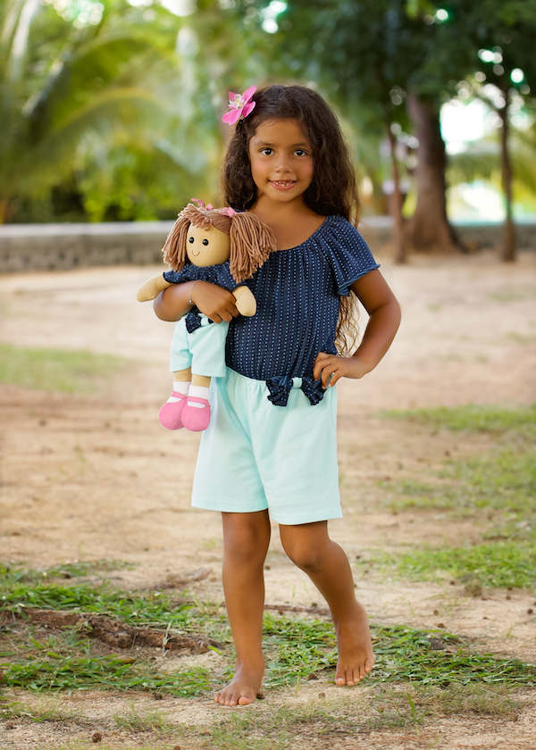 Leo Overall - Turquoise Sea size 4, 6, 8, 10, 12
