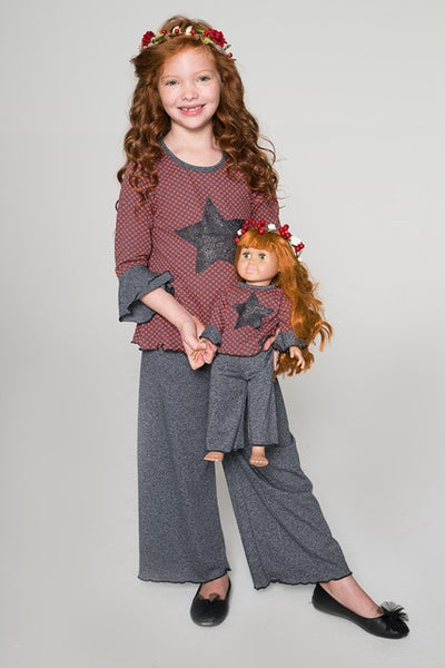 Palazzo Shirt & Pants Set - Boho Princess