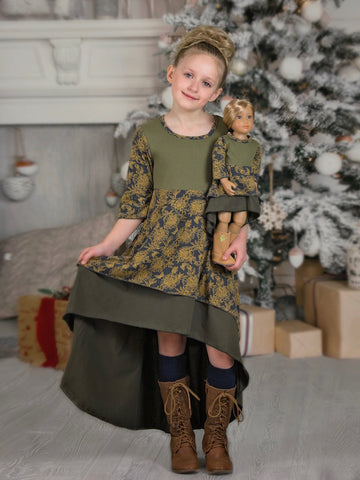 Alice Dress - Christmas Princess size 4, 6, 10, 12