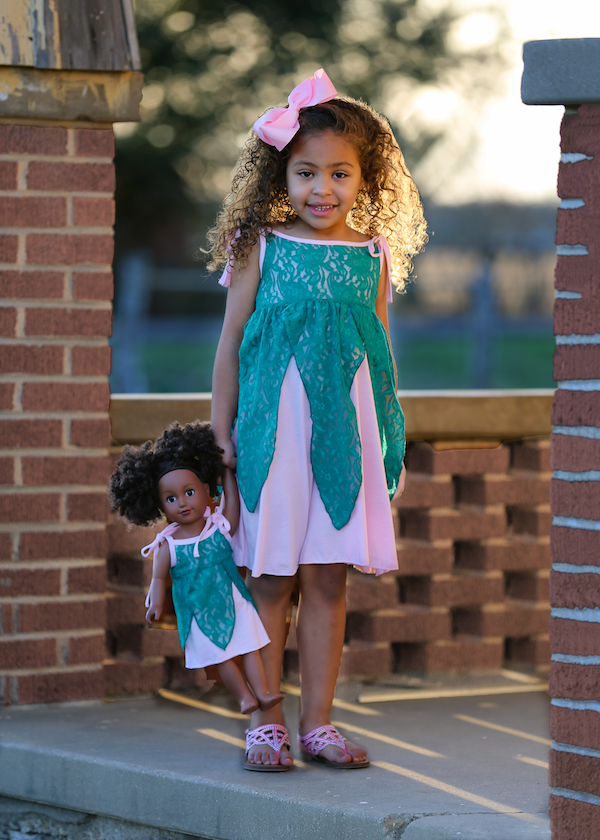 Lacey Dress - Mermaid Princess size 4, 6, 8, 10, 12