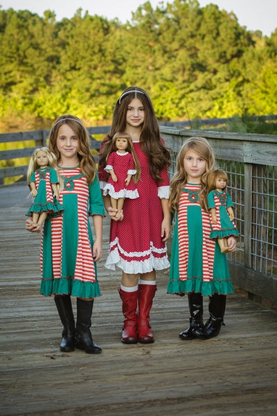Sarah dress - Christmas Elves