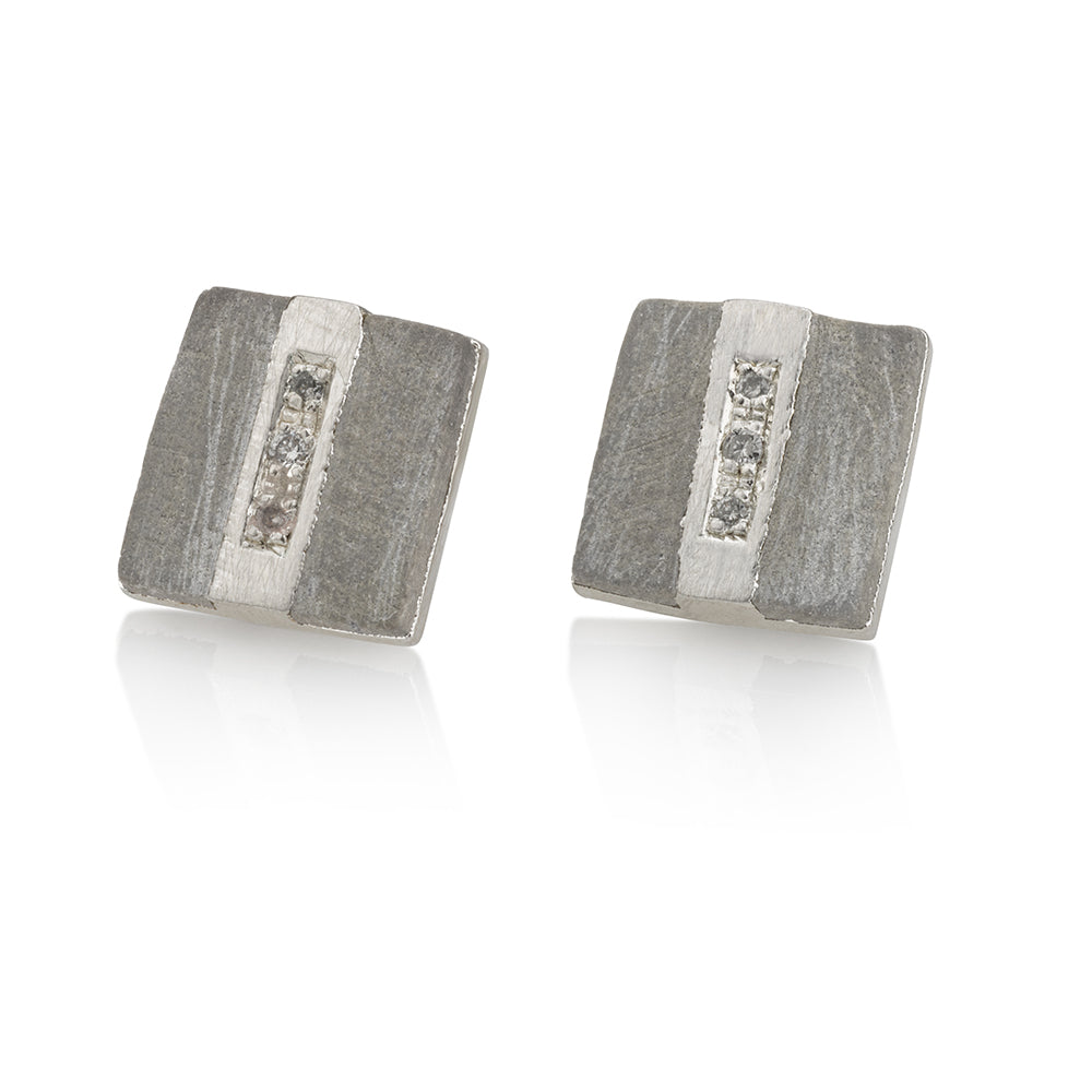 Ash Earrings | Silver