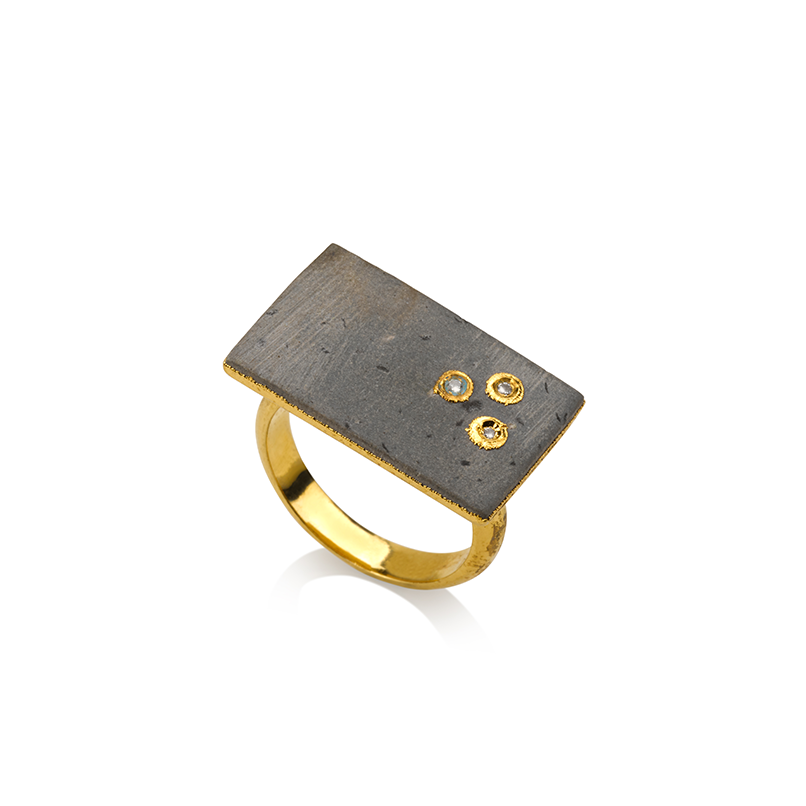 Storm Ring | Golden