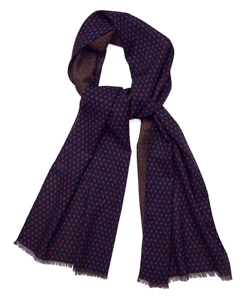 SCARF WILLIAM NAVY