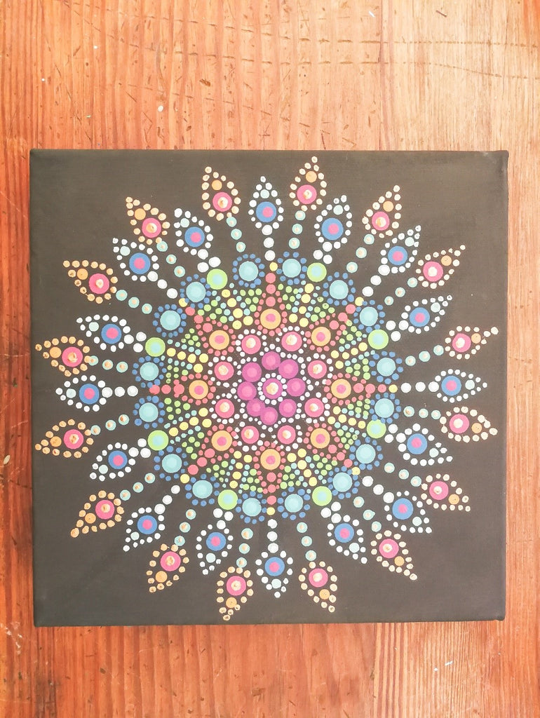 Dot Art on a Budget