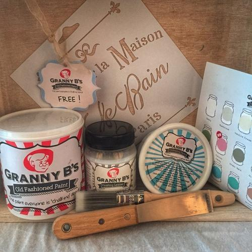 Deluxe Starter Kit - 1L - Granny B's Old Fashioned Paint