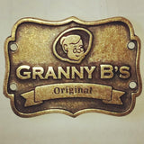 Designer Brass Label - Granny B's Old Fashioned Paint