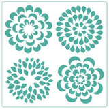 Floral Set - Stencil - Granny B's Old Fashioned Paint