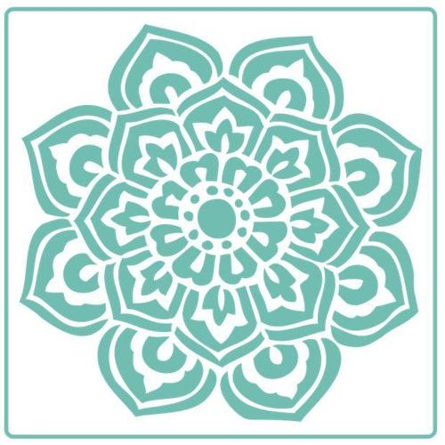 Indian Flower Mandalla - Stencil - Granny B's Old Fashioned Paint