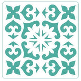 Spanish Repeat Tile - Stencil - Granny B's Old Fashioned Paint