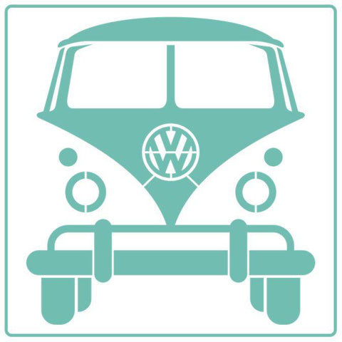 VW Camper Van - Stencil - Granny B's Old Fashioned Paint