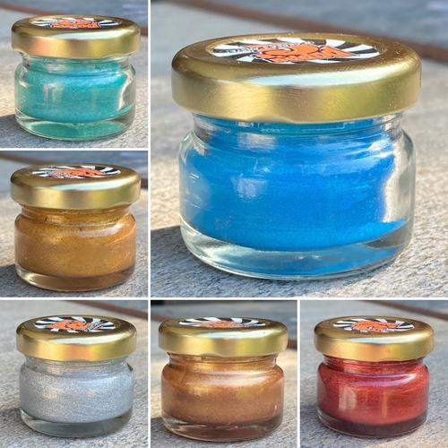 Deluxe Gilder's Paste - Collection of 6 Original Colours(25g)