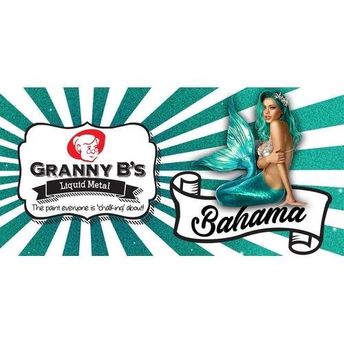 Liquid Metal Bahama Turquoise 125ml - Granny B's Old Fashioned Paint