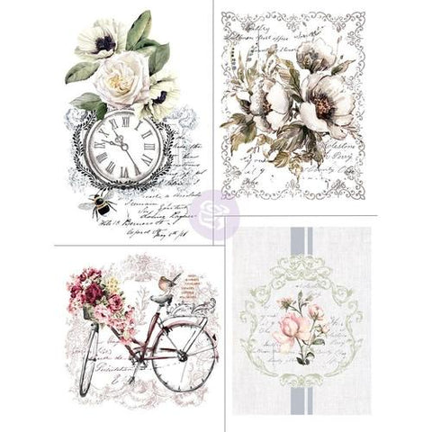 Bike Rides - Transfer (Prima Re-design) (OUT OF STOCK) - Granny B's Old Fashioned Paint