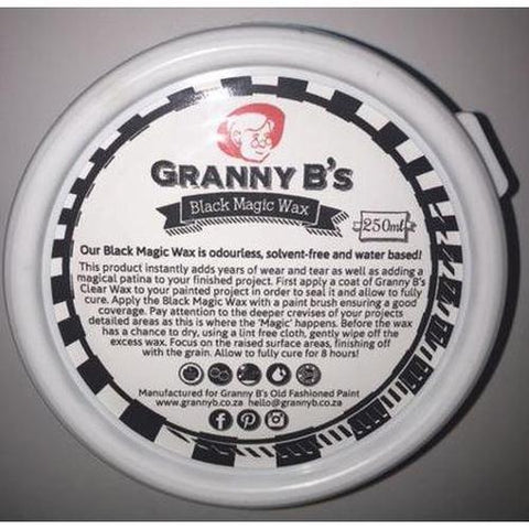 Black Magic Waxing Cream - Granny B's Old Fashioned Paint