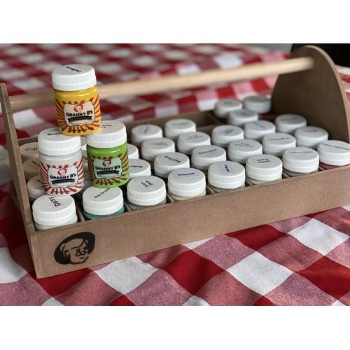 Granny B's 50ml Chalkpaint Collection and Carry Case - Granny B's Old Fashioned Paint