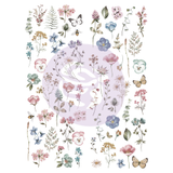 Delicate Fleur - Transfer (Prima Re-design) - Granny B's Old Fashioned Paint