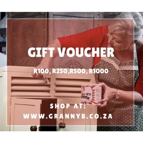 Granny B's Online Store Gift Voucher - Granny B's Old Fashioned Paint