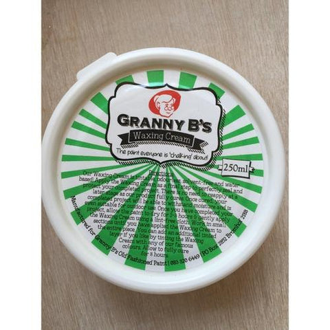 Granny B's Waxing Cream 250ml (OUT OF STOCK) - Granny B's Old Fashioned Paint