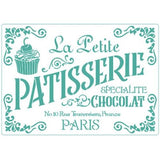Patisserie -Stencil - Granny B's Old Fashioned Paint