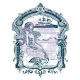Mermaid - Transfer (Prima Re-design) - Granny B's Old Fashioned Paint