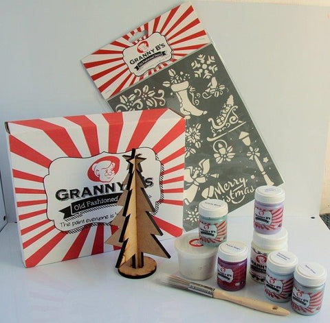 Christmas Project Pack  - Modern English - Granny B's Old Fashioned Paint