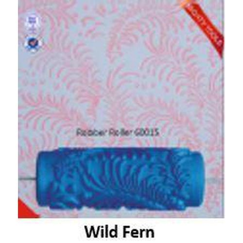 Roller insert -  (requires roller frame) 'Wild Fern' pattern - Granny B's Old Fashioned Paint