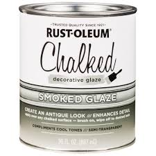 Decorative Glaze - SMOKED Rust-Oleum (887ml) - Granny B's Old Fashioned Paint