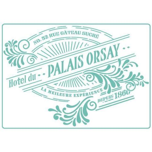 Palais Orsay -Stencil - Granny B's Old Fashioned Paint