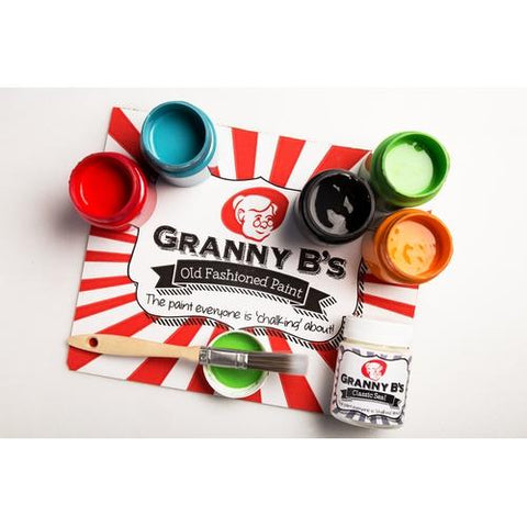 Greatest Hits Colours Basic Project Pack  in 125ml - Granny B's Old Fashioned Paint