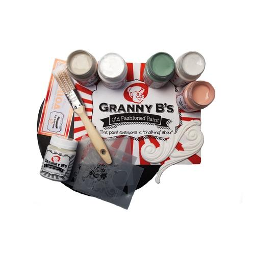 Deluxe Project Pack  - Vintage Colours (125ml) - Granny B's Old Fashioned Paint
