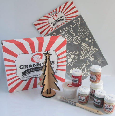 Christmas Project Pack  - Traditional Afrikaans - Granny B's Old Fashioned Paint