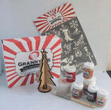 Christmas Project Pack  - Traditional English - Granny B's Old Fashioned Paint