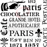 Assorted French Stencil - Granny B's Old Fashioned Paint