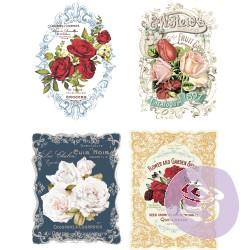 Wild Roses - Transfer (Prima Re-design) - Granny B's Old Fashioned Paint