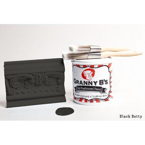 Old Fashioned Paint - Black Betty (Black) - Granny B's Old Fashioned Paint