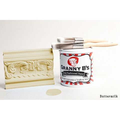 Old Fashioned Paint - Buttermilk (Pale Yellow) - Granny B's Old Fashioned Paint