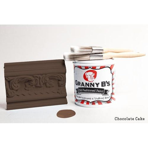 Old Fashioned Paint - Chocolate Cake (Dark Brown) - Granny B's Old Fashioned Paint