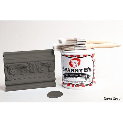 Old Fashioned Paint - Dove Grey (Charcoal) - Granny B's Old Fashioned Paint