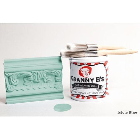 Old Fashioned Paint - Icicle Blue (Vintage Blue) - Granny B's Old Fashioned Paint