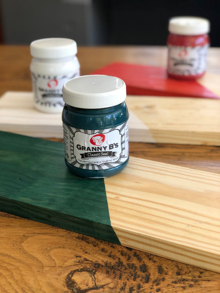 Classic Seal Woodstain - Turquoise 400ml - Granny B's Old Fashioned Paint