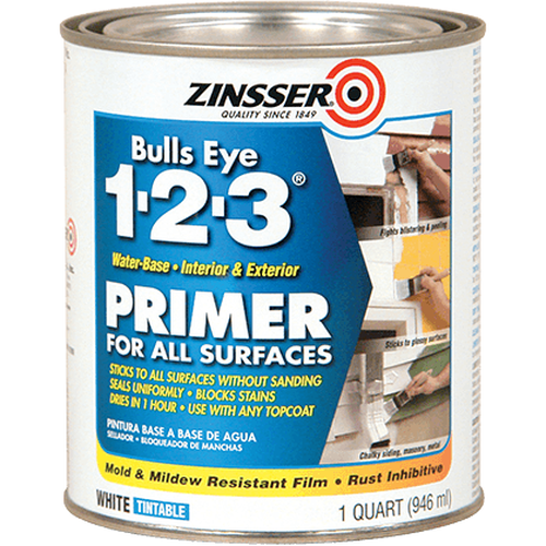 Zinsser Bulls Eye 123 Primer - stop wood bleed - Granny B's Old Fashioned Paint