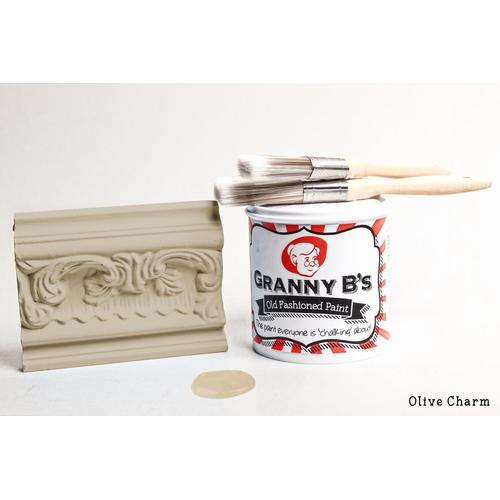 Old Fashioned Paint - Olive Charm (Olive) - Granny B's Old Fashioned Paint