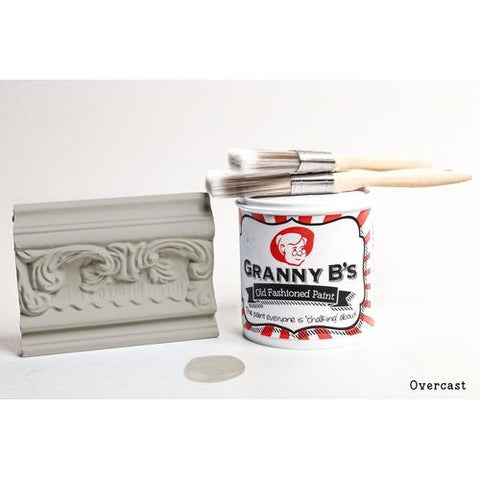 Old Fashioned Paint - Overcast (Mid Grey) - Granny B's Old Fashioned Paint