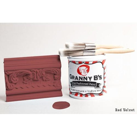 Old Fashioned Paint - Red Velvet (Deep Red) - Granny B's Old Fashioned Paint